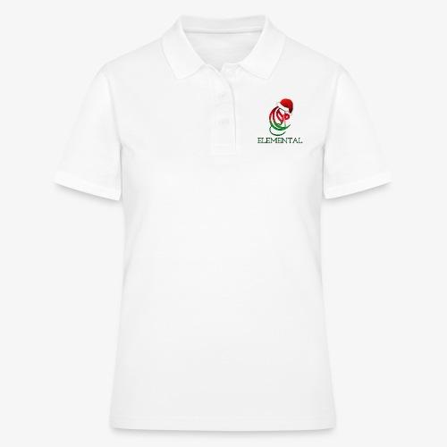 Exclusive Elemental Christmas Logo - Women's Polo Shirt
