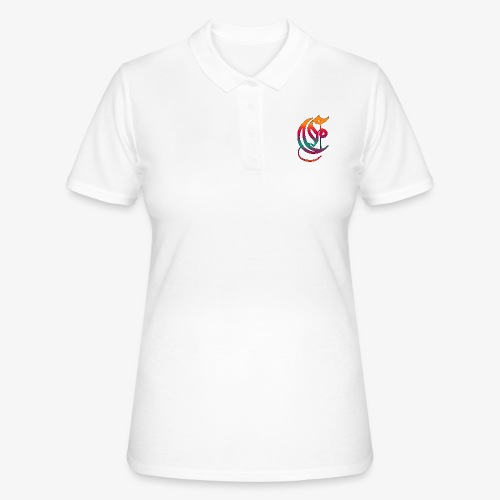 Elemental Retro logo - Women's Polo Shirt