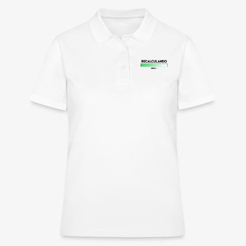 RECALCULANDO - Camiseta polo mujer