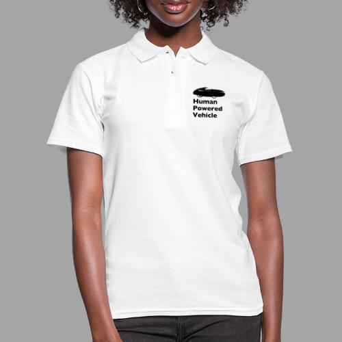 Quest Human Powered Vehicle 2 black - Women's Polo Shirt