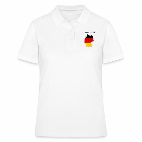 Deutschland Karte - Frauen Polo Shirt