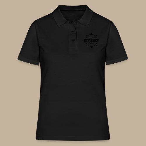 Black TEO Logo - Women's Polo Shirt