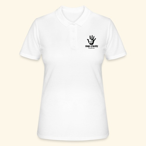 STOP CRUELTY - Women's Polo Shirt