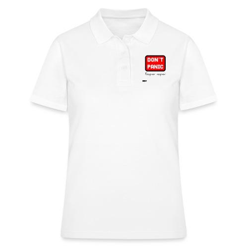 don't panic, respirer - Women's Polo Shirt
