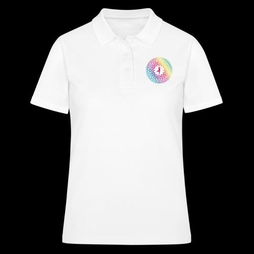 Mindulness - Tree position design - Women's Polo Shirt