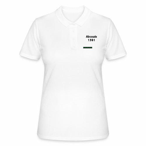 Abcoude post code merk - Women's Polo Shirt