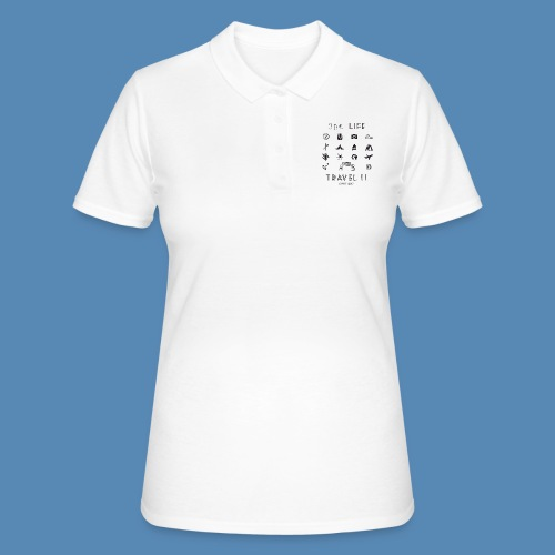 One Life, Travel It - Women's Polo Shirt