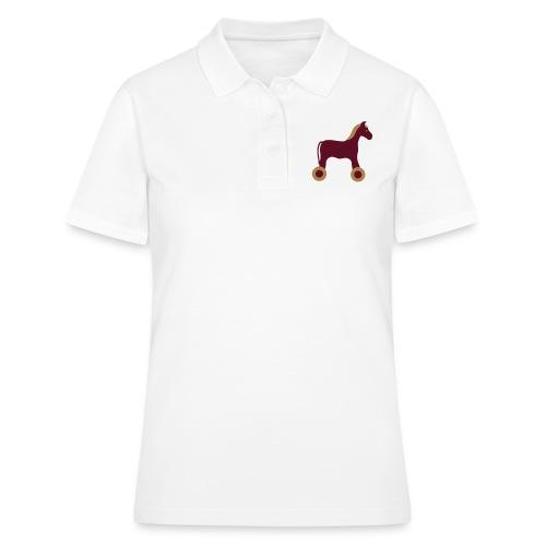 Nachziehtier Pferd Birth Geburt Birthday Baby - Frauen Polo Shirt