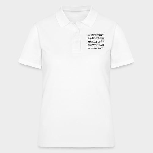 European capitals - Women's Polo Shirt