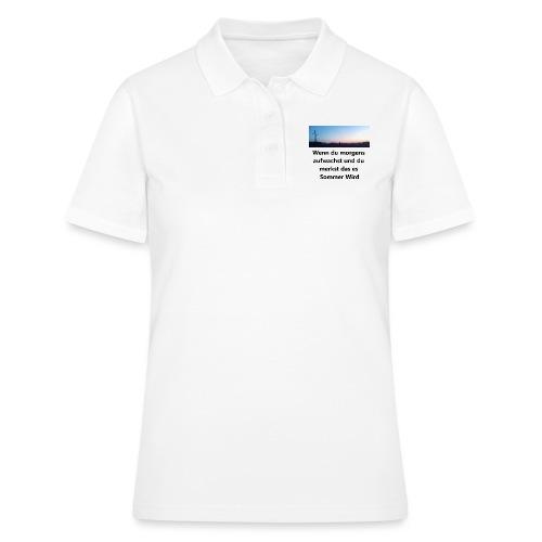 Sommer 1Negativ - Frauen Polo Shirt