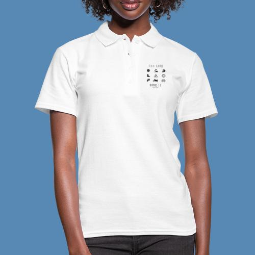 One life, Ride it - Polo Femme
