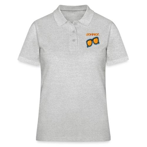 Sommer Sonnenbrille - Frauen Polo Shirt
