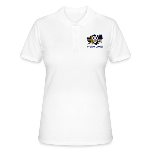 Svenska Lejonet Official Chest Logo - Women's Polo Shirt