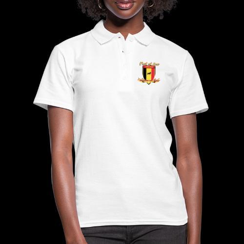 belgique foot coupe du monde - Polo Femme