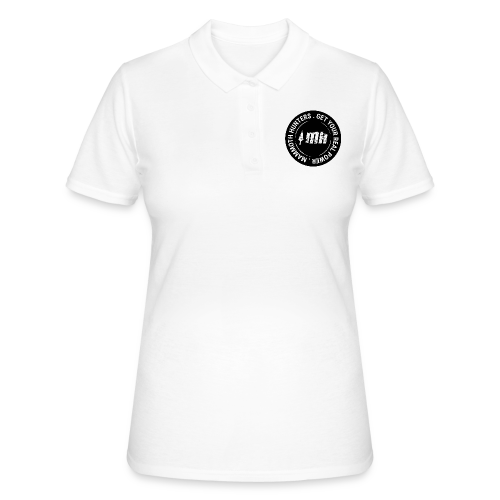 Mammoth Hunters / Círculo completo negro - Women's Polo Shirt