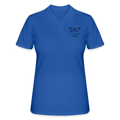 Down the system - Camiseta polo mujer