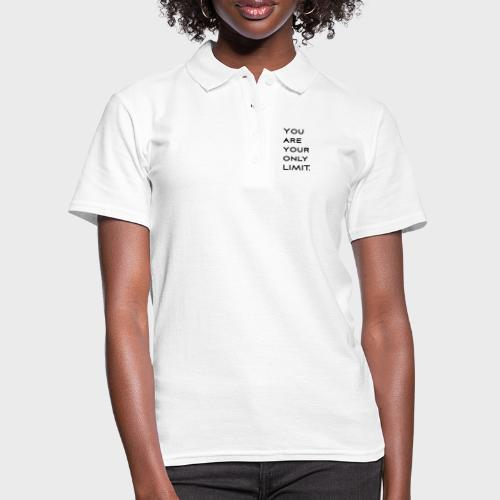 Limit Black - Frauen Polo Shirt