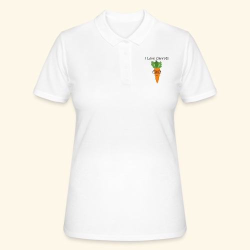 Love Carrots - Camiseta polo mujer