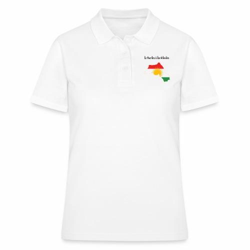 Ez kurdim u serbilindim - Women's Polo Shirt