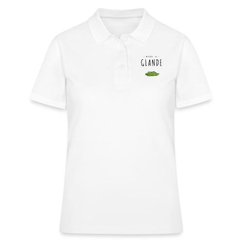 MADE IN GLANDE (Croco) - Women's Polo Shirt