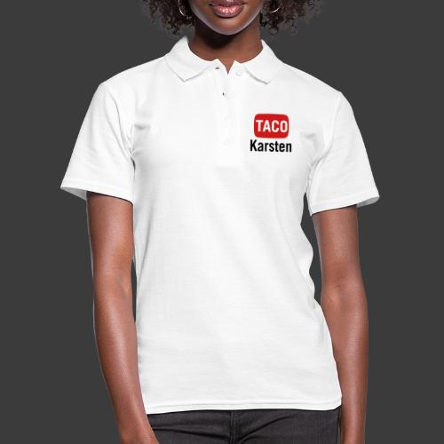 Taco Karsten Youtube Logo - Women's Polo Shirt