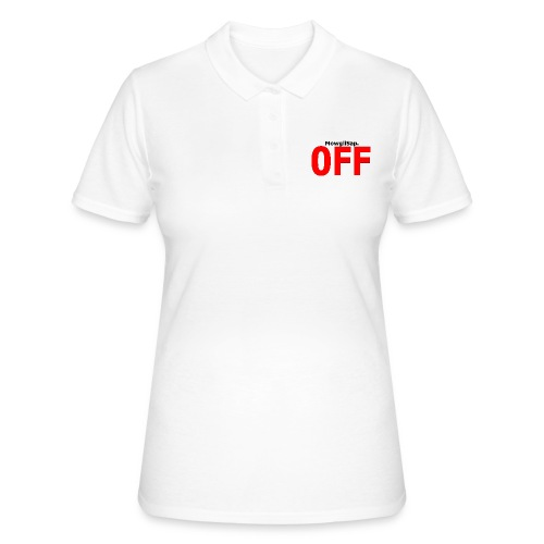MowgliSap OFF Red - Polo Femme