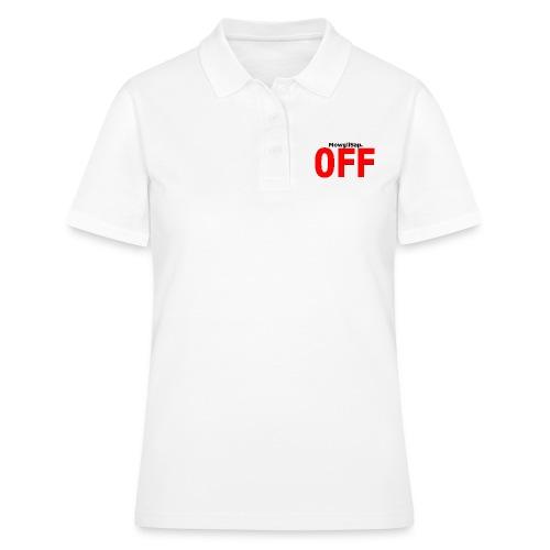 MowgliSap OFF Red - Women's Polo Shirt