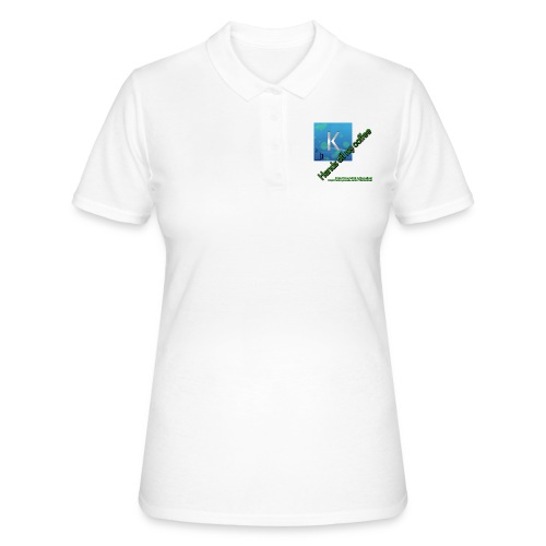 hands off my coffee - Women's Polo Shirt