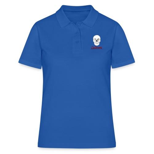 Calavera - Camiseta polo mujer