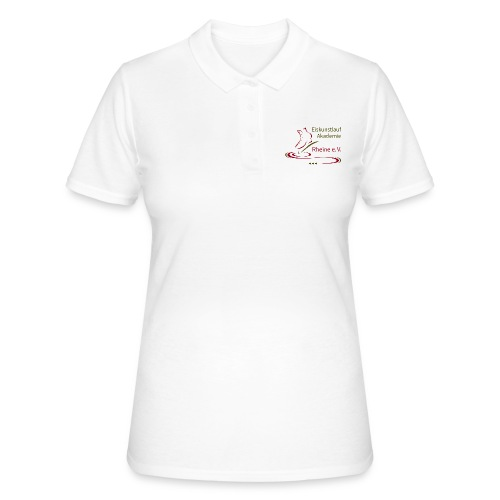 Original Logo Eiskunstlauf Akademie Rheine e.V. - Frauen Polo Shirt