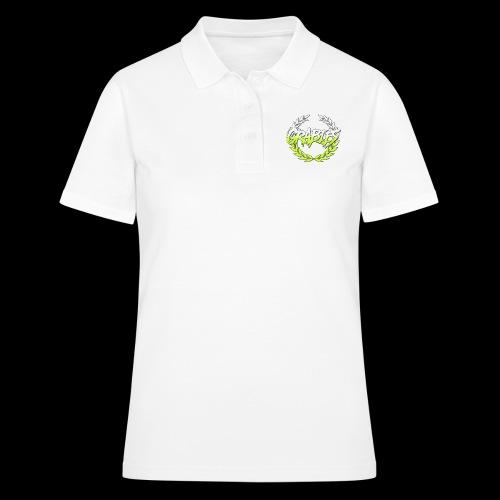 grabies Green/white fade - Poloshirt dame