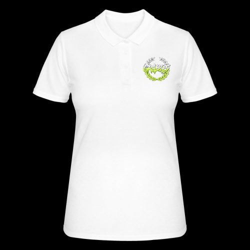grabies Green/white fade - Women's Polo Shirt