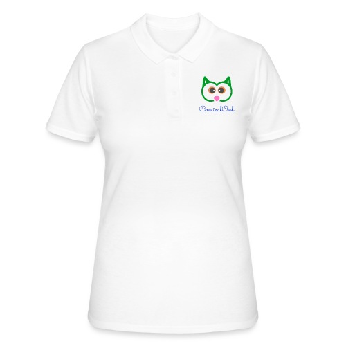 Cartoon Owl - Women's Polo Shirt