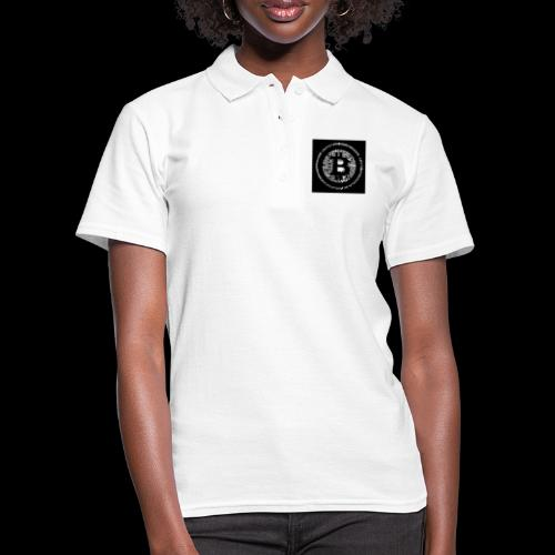 bitcoin logo - Frauen Polo Shirt
