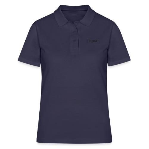 Flexing Box (BLACK) - Women's Polo Shirt