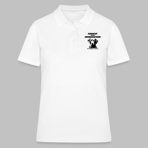 Vorsicht vor der Hundehalterin der Labrador Spruch - Frauen Polo Shirt