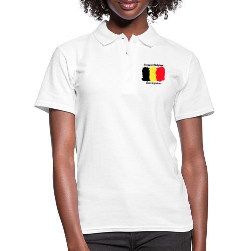 3SB - Edition limitée - I support Belgium - Polo Femme