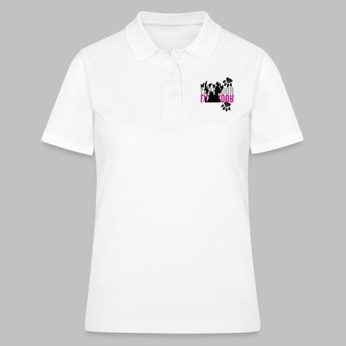 Labrador Kopf Pfoten - Frauen Polo Shirt