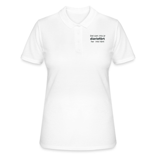 Diariefört - Women's Polo Shirt