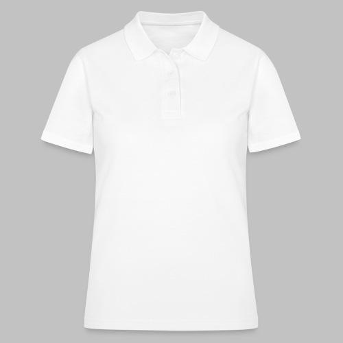 Die mit dem Hund läuft - White Edition - Geschenk - Frauen Polo Shirt