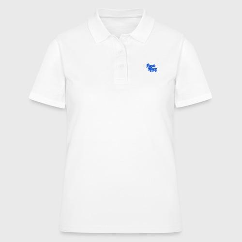 PurpleMoney Blue Authentic Logo - Women's Polo Shirt