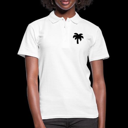 Palm Basic Black - Women's Polo Shirt