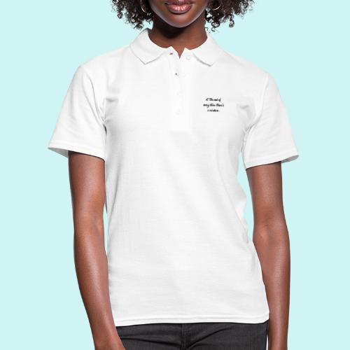 At The End Of Every Storm There's A Rainbow - Women's Polo Shirt
