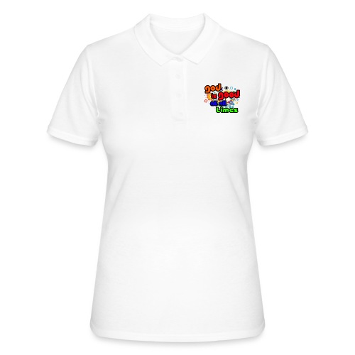 God is Good at all time - Women's Polo Shirt