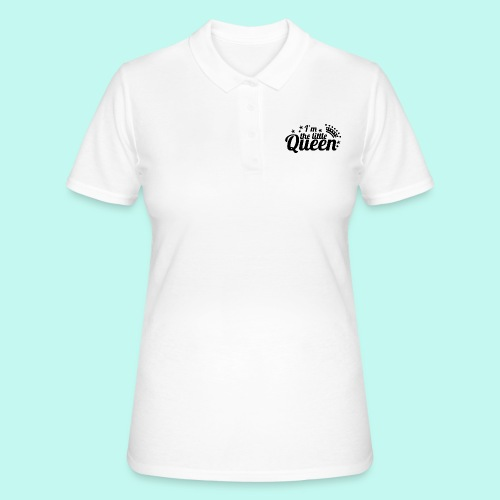 I'm the little Queen - Frauen Polo Shirt