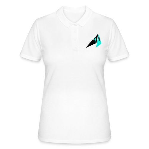 HKS LOGO kiipeilijaet valkoinen - Women's Polo Shirt