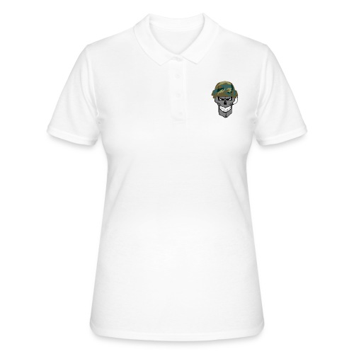 craneo militar - Women's Polo Shirt