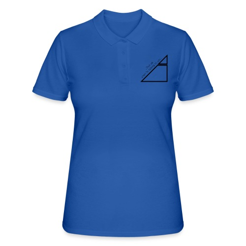 shut Up Mountain - Women's Polo Shirt