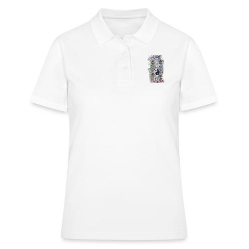 Koifish Ying Yang Kollection (Frau) - Frauen Polo Shirt