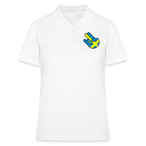 Sweden Shocker Hand Finger Geschenk - Frauen Polo Shirt